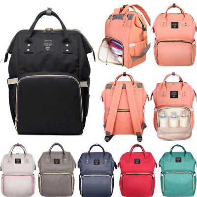 Top Multifunctional Baby Diaper Nappy Backpack Maternity Large Capacity Baby Bag