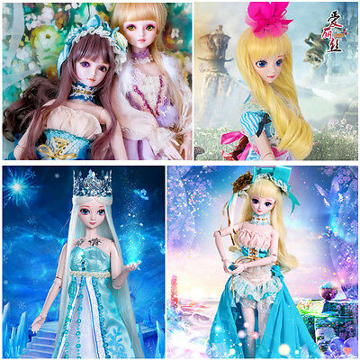 50cm BJD Snow White Princess SD Dolls Ball-jointed Doll Toys Gift