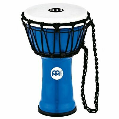 """Meinl Percussion JRD-B Synthetic Compact Junior Djembe, 7"""" Diameter, Blue"""