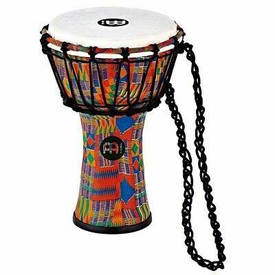 """Meinl Percussion JRD-KQ Synthetic Compact Djembe, 7"""" Diameter, Kenyan Quilt"""
