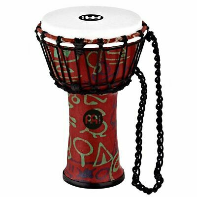 """Meinl Percussion JRD-PS Synthetic Compact  Djembe, 7"""" Diameter, Pharaoh's Script"""