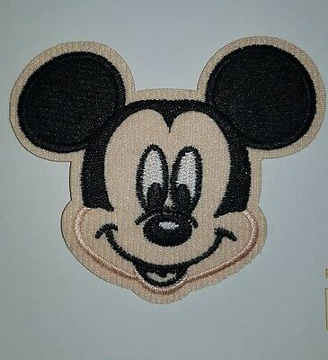 MICKEY MOUSE head  iron on patch