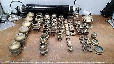 Assorted Brass Bed Knobs, New Old Stock