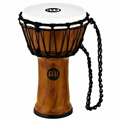 """Meinl Percussion JRD-TA Synthetic Compact Djembe, 7"""" Diameter, Twisted Amber"""