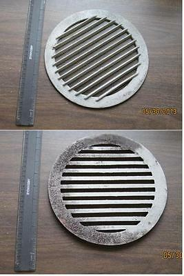 Round  9 Inch Cast Iron Grate For Indoor Grilling / Drain Original Heavy $12.