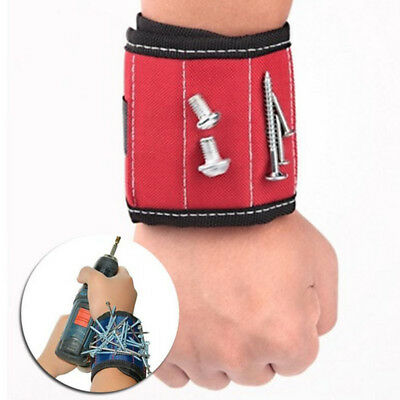 1Pcs Sports Belt Support Protection Magnetic Wristbands Screw Tool