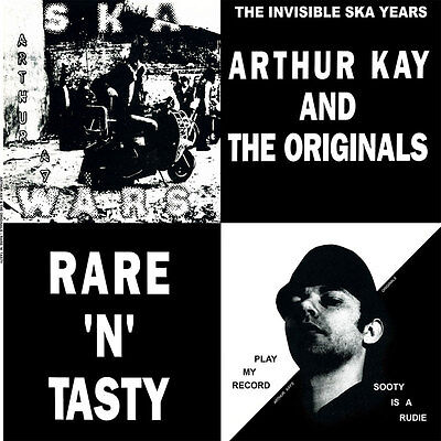 ARTHUR KAY AND THE ORIGINALS RARE `N`TASTY LP (blue vinyl)