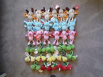 32 Pieces, Plush Dog Toys for Small Breed Dogs - Wholesale Job Lot Car Boot Sale