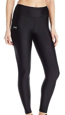 Under Armour Womens Heatgear Fly By Street Compression Legging Pants Black XS