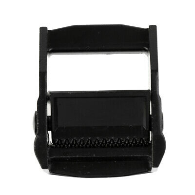 Cam Lever Flap Buckle Tie Down Strap Buckle for 38mm 1.5 inch Webbing Black