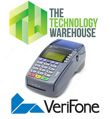 Verifone Omni 3750 Credit Card Machine With Receipt Printer - M197-520-13-Gb1
