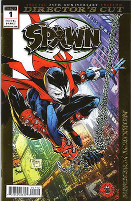 SPAWN #1 Director's Cut Gold Foil Encore Edition Tod McFarlane Image Comics NM