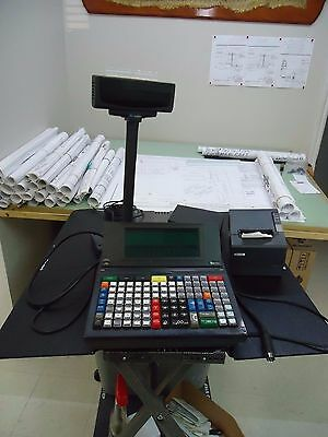 VeriFone Ruby CPU5 CPU 5 120-Key POS Point of Sale System P040-03-530 w/TM-T88IV