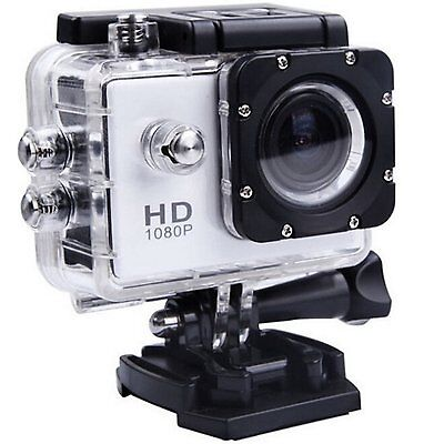 """GoPro"" Sports Waterproof Action Camera Camcorder - Silver 1080P"