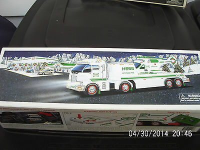2006 Hess Toy Truck And Helicopter New In Box