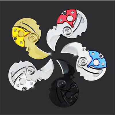 Neu Coin Keyring Keychain Necklace Karambit Stainless steel Neck Claw Knife Cool