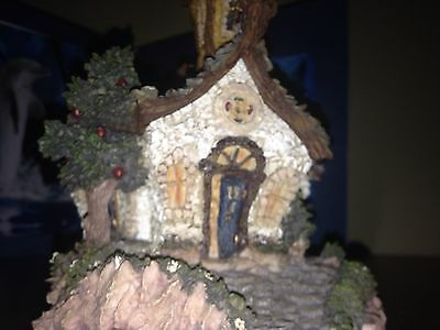 BOYDS TOWN BEARLY BUILT VILLAGES ~ CHAPEL IN THE WOODS  - 1st EDITION!