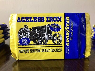 Goodyear Ageless Iron Antique Tractor Collector Cards Series VI, Lot Of 52