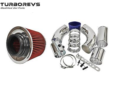 "Universal Forced Cold Air Feed 3"" Performance Induction Ram Air Filter Intake"