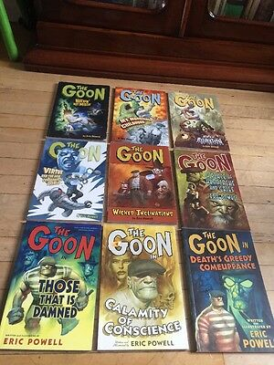 The Goon Graphic Novel Bundle. Vol 1 2 3 4 5 7 8 9 10