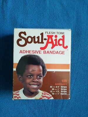 Soul-Aid African American BLACK Americana collectibles products 70's Racist
