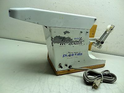 Plas-Ties Tie-Matic Mark Iii 3 Model 502 Twist Tie Machine 115V, 3.2 Amp, Usa