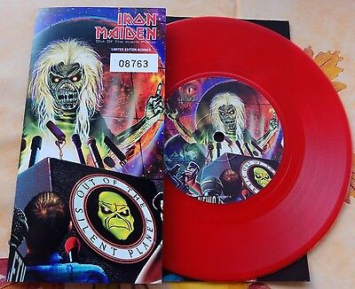 Iron Maiden ‎– Out Of The Silent Planet (7'' 45 rpm emi 8893897) limited numb