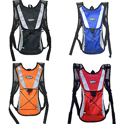 MOSOS Hydration Pack + 2L Water Bladder Bag Backpack Hiking Camping Running WB1