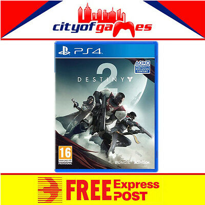 DESTINY 2  PS4 Game New & Sealed Free Express Post  In Stock