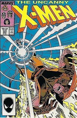 MARVEL COMICS UNCANNY X-MEN #221 1987 - NM 1st appearance of MISTER SINISTER