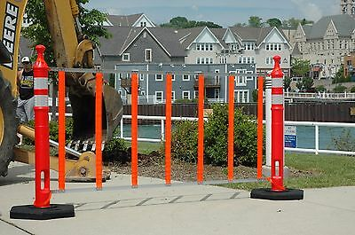 """""""R.U.F Roll Up Fence""""  Lightweight Portable Safety Barrier"""