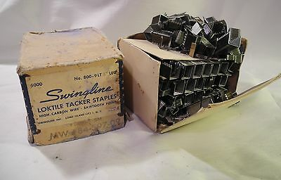 Vintage Swingline Loktile Tacker Staples ~ 800 9LT High Carbon Sawtooth Point