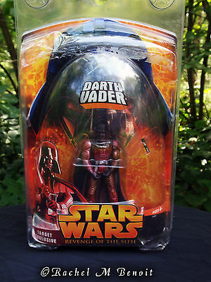 Hasbro Star Wars Revenge of the Sith Target Exclusive Lava Darth Vader 1 0f 5000