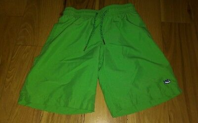 Boys Southern Tide swimming Trunks Small 6 7 swimsuit Lime green shorts