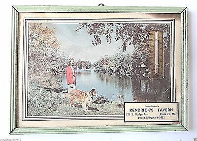 """Kendrick's Tavern"" Advertising Thermometer Essex, Maryland"