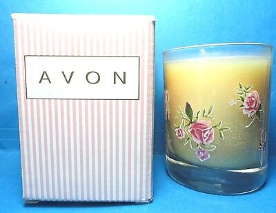 Avon Pink Ribbon Candle Dated 1999