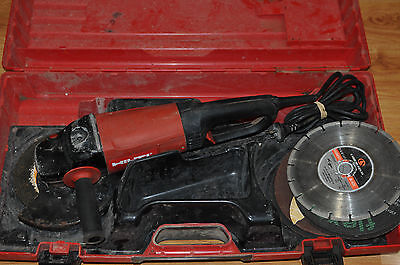 Hilti DC230-S Angle Grinder 2500W 230mm + Case / Good Condition