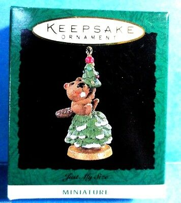 "Hallmark ""Just My Size"" Miniature Ornament Dated 1994"