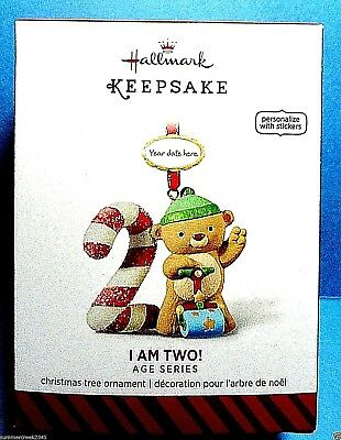"Hallmark ""I Am Two"" Ornament 2014"