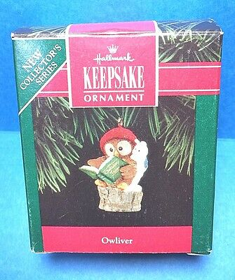 "Hallmark ""Owliver"" Ornament 1992"