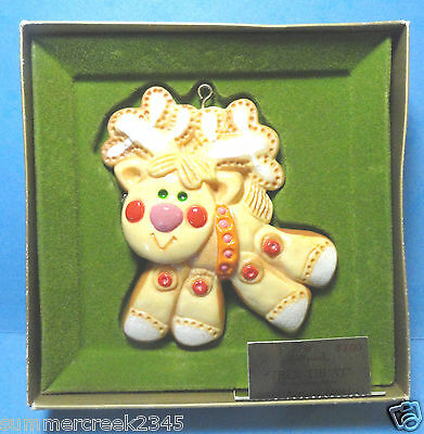 "Hallmark ""Reindeer"" Tree Treat Tree Trimmer Collection Ornament 1976"