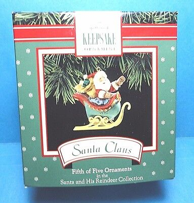 "Hallmark ""Santa Claus"" Ornament 1992"