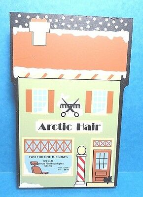 """The Cats Meow """"Artic Hair"""" North Pole Collection Shelf Sitter 2002"""