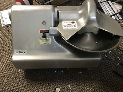 """Univex BC-14 Commercial Counter Top Buffalo Meat Chopper Cutter Slicer 14"""" Bowl"""