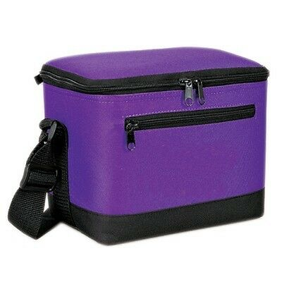 Deluxe 6-Pack Cooler Purple 6CP-2706
