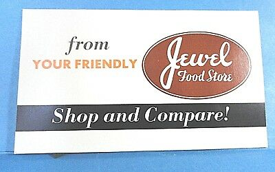"Vintage ""Jewel Food Store"" Needle Case Book Made in Japan"