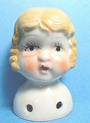 Vintage Porcelain Doll Head Japan