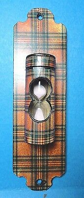 Vintage Red Plaid. Kitchen Sand Egg Timer