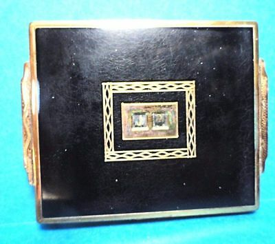 Vintage Swiss Made Powder Compact Can Personalize