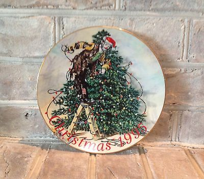 Emmett Kelly jr., Collectors Plate, Christmas 1995